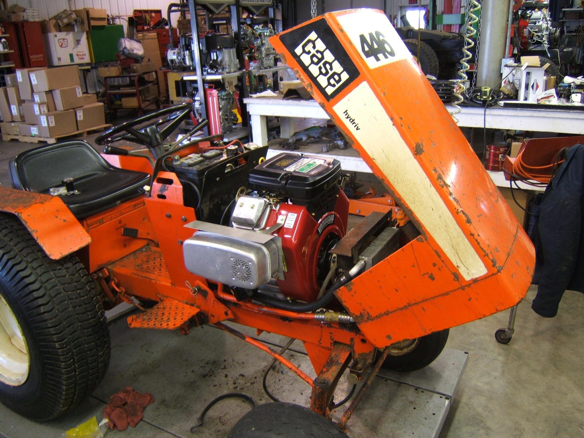 case  u2013 ingersoll garden tractor repair and repower case