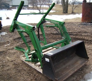 John Deere 40 front end loader attachment