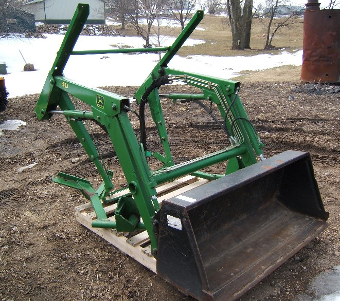 John Deere 40 Front End Loader