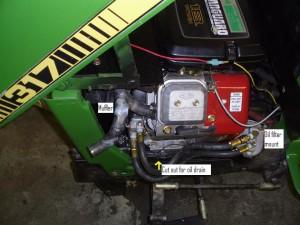 Repower a John Deere 317 garden tractor