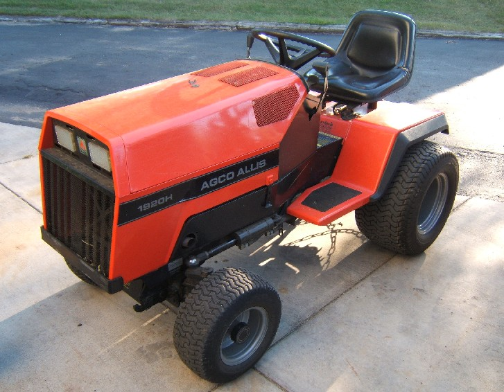 agco allis lawn mower garden tractor info  at edmiracle.co