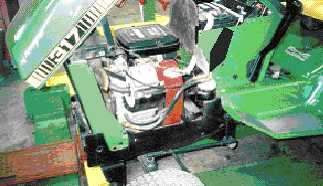 Garden Tractor Quick Answers John Deere 317 repower – Garden ... on john deere pto diagram, john deere lawn mower parts diagram, john deere x320 drive belt diagram, craftsman riding lawn mower wiring diagram, john deere 4020 hydraulic pump diagram, john deere 318 engine diagram,
