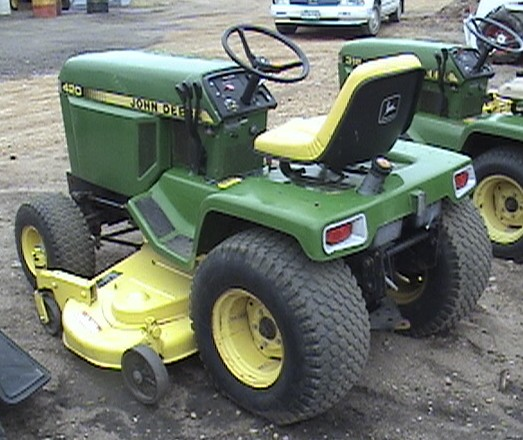 john deere 420 repair garden tractor info John Deere 300 Lawn Tractor Wiring Diagram at virtualis.co