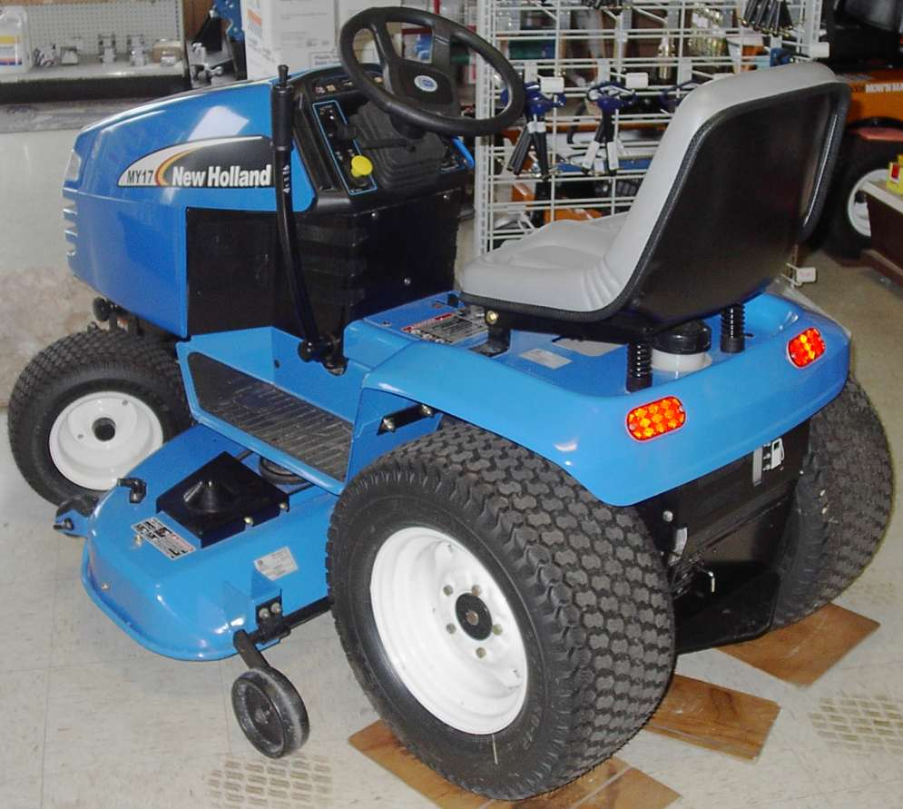 new holland garden tractor garden tractor info Ford Tractor Wiring Harness Diagram at couponss.co